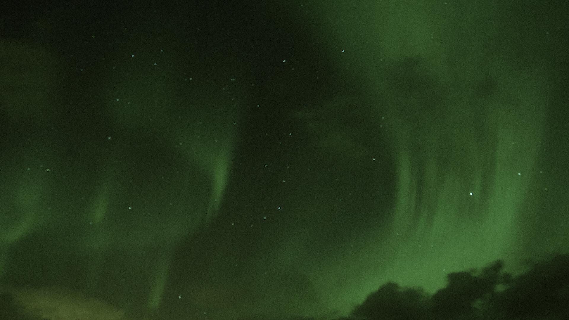 Aurora Borealis photography 360 iralta vr
